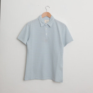 Leao Polo Shirt - Blue Stripes