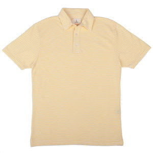 Leao Polo Shirt - Yellow Stripes
