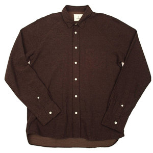 Mirra Raglan - Brown Grid