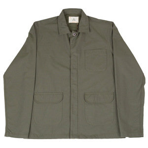 RAMOS OVERSHIRT - FOREST GREEN