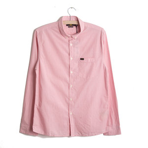 Button Down Shirt - Faded Pink