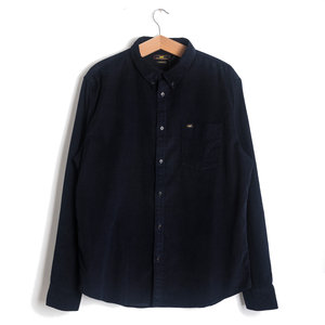 Button Down Shirt - Midnight Blue Cord