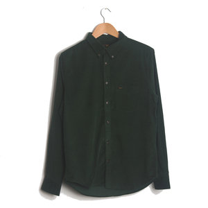Button Down Shirt - Forest Green