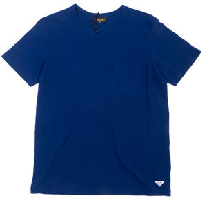 Cotton Linen Tee - Blue Depths