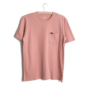 Pocket Tee - Faded Pink