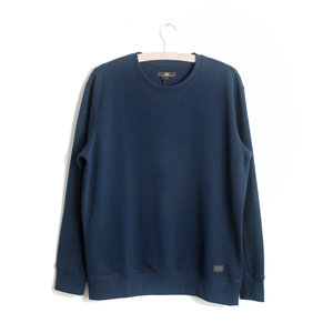 SOLID SWEATSHIRT - NAVY