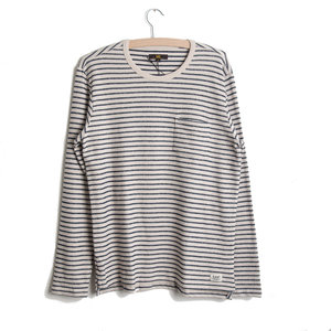 Stripe Long Sleeve - Sandy Beach