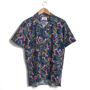 CAVE SHIRT - NAVY DRAGON