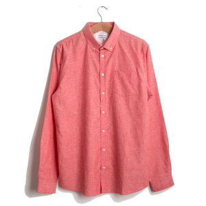 HUNTER SHIRT - CHINESE RED
