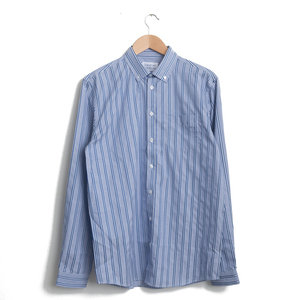 HUNTER SHIRT - ROYAL STRIPE