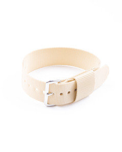 "20mm US Pattern ""Khaki"" Military Watch Strap"