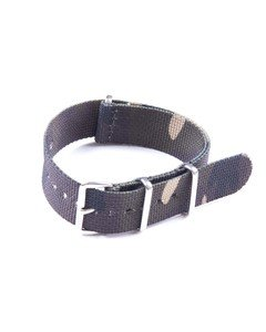 20mm Woodland Camouflage NATO Strap