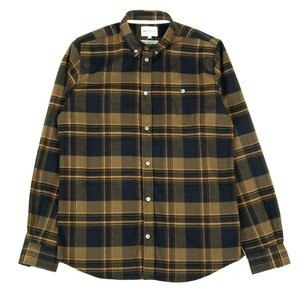 ANTON BRUSHED FLANNEL CHECK - IVY GREEN