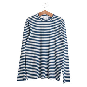James Logo Stripe - Blue