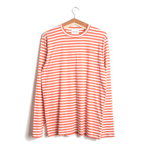 James Logo Stripe - Red