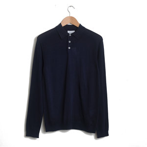JOHAN MERINO POLO - DARK NAVY