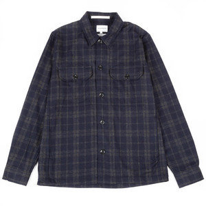 KYLE WOOL SHIRT - DARK NAVY