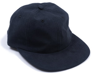Light Faux Suede Cap - Black