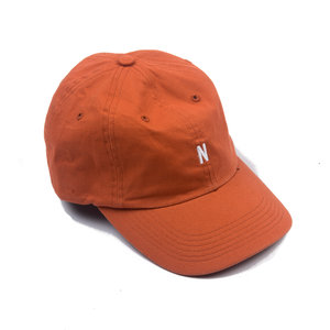 LIGHT TWILL SPORTS CAP - BURNED RED