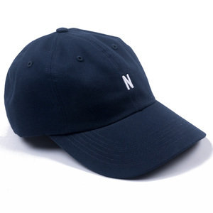 Twill Sports Cap - Dark Navy