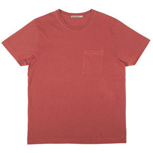 Roy One Pocket Tee - Dusty Red