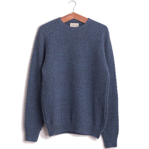 Blenheim Crew sweater - Sky Blue