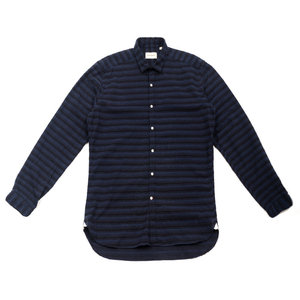 Clerkenwell Tab Shirt Caswell Midnight