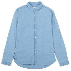 Clerkenwell Tab Shirt - Kildale Indigo Light