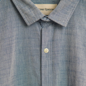 Clerkenwell Tab Shirt - Piper Blue