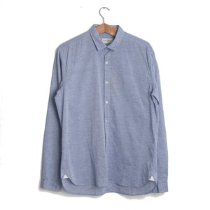 Clerkenwell Tab Shirt - Walker Blue