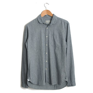 Eton Collar Shirt - Isley Indigo