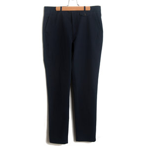 Fishtail Trouser - Cheviot Navy