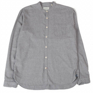 Grandad Shirt - Abbingdon Grey