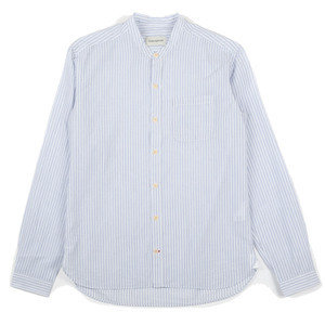 Grandad Shirt - Blue