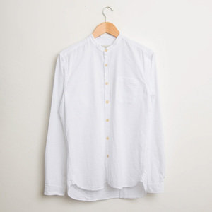 Grandad Shirt - Hattison White