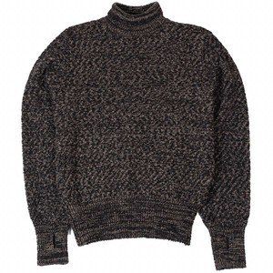 TALBOT ROLL NECK - HEREFORD BLACK