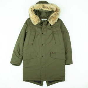 CARNABY parka coat - Military Green