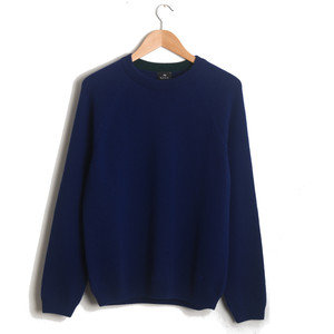 CREW NECK SWEATER - BLUE