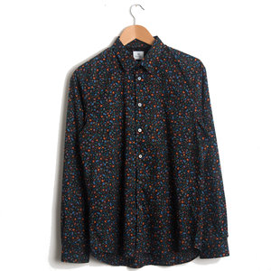 TAILORED SHIRT 79 - BLACK FLORAL