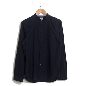 Grandad Collar Shirt - Inky