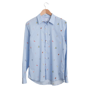 Tailored Shirt - Light Blue