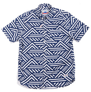 Elba geometric short sleeve