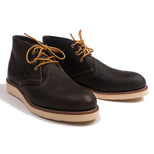 Work Charcoal Chukka