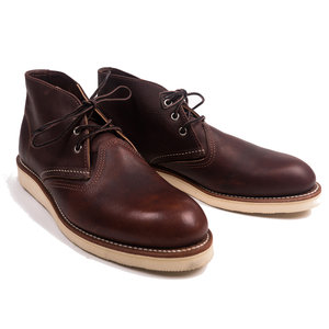 Work Chukka - Briar Oil Slick Leather