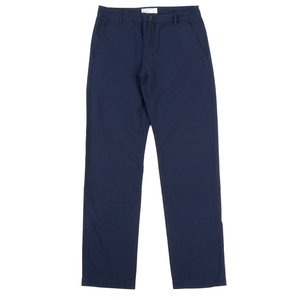 Aston Pant - Navy Cotton Suiting II