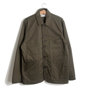 Bakers Jacket - Olive Twill