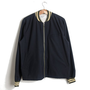 Digey Bomber Jacket - Navy Worker Marl