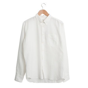 Everyday Shirt - Ecru Oxford Shirting