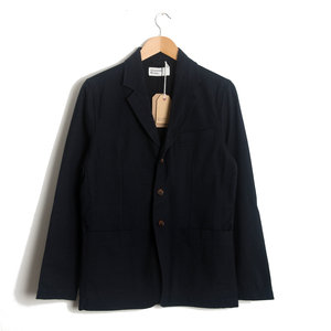 London Jacket - Navy Wool Marl