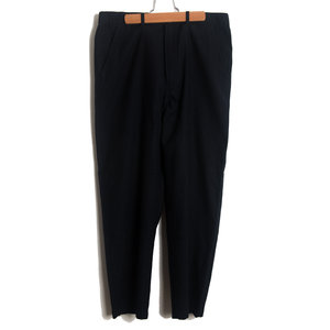 Loose Pant - Navy Wool Marl